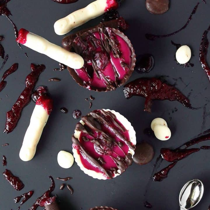 Halloween Bloody Beet Bowls