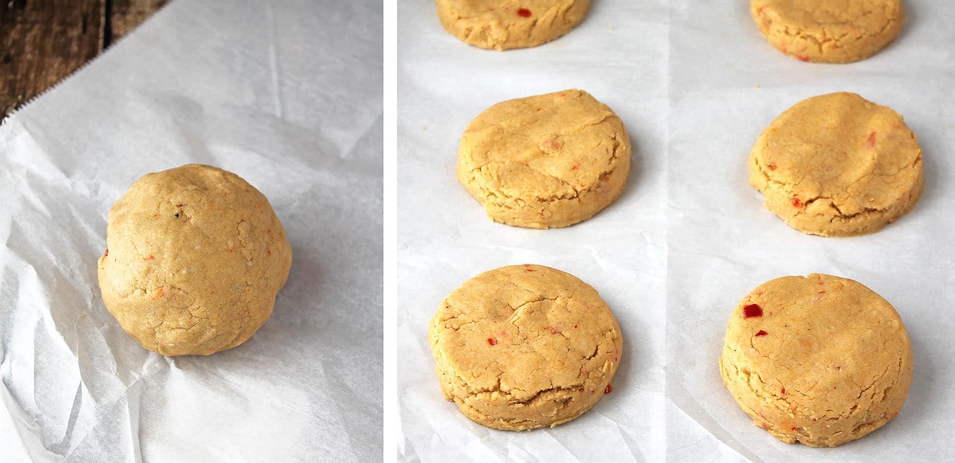 Hummus-Biscuits-Prep