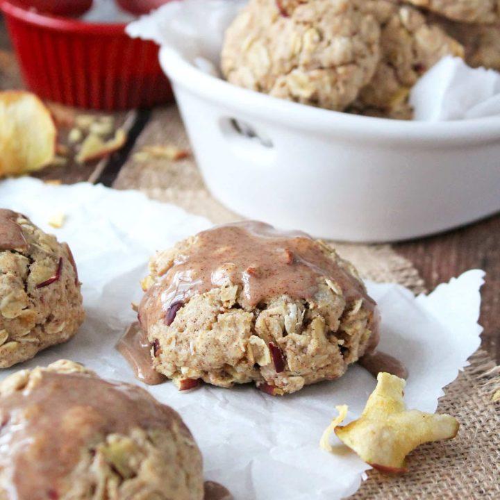 Cinnamon Vanilla Apple Cookies
