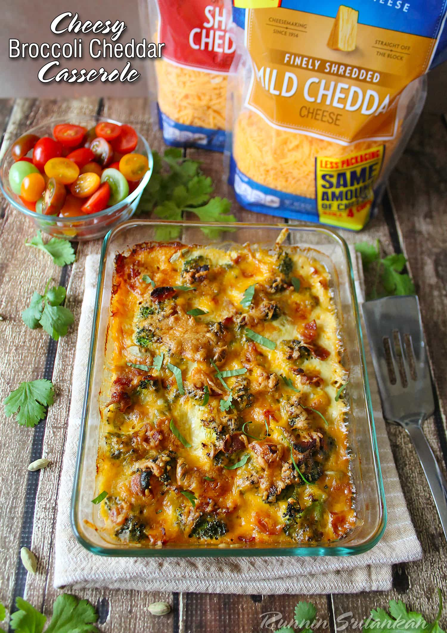 This Cheesy bacon broccoli casserole is perfect for lazy, cold weekend mornings! A few moments of prepping and voila - you have a hearty and tasty casserole!