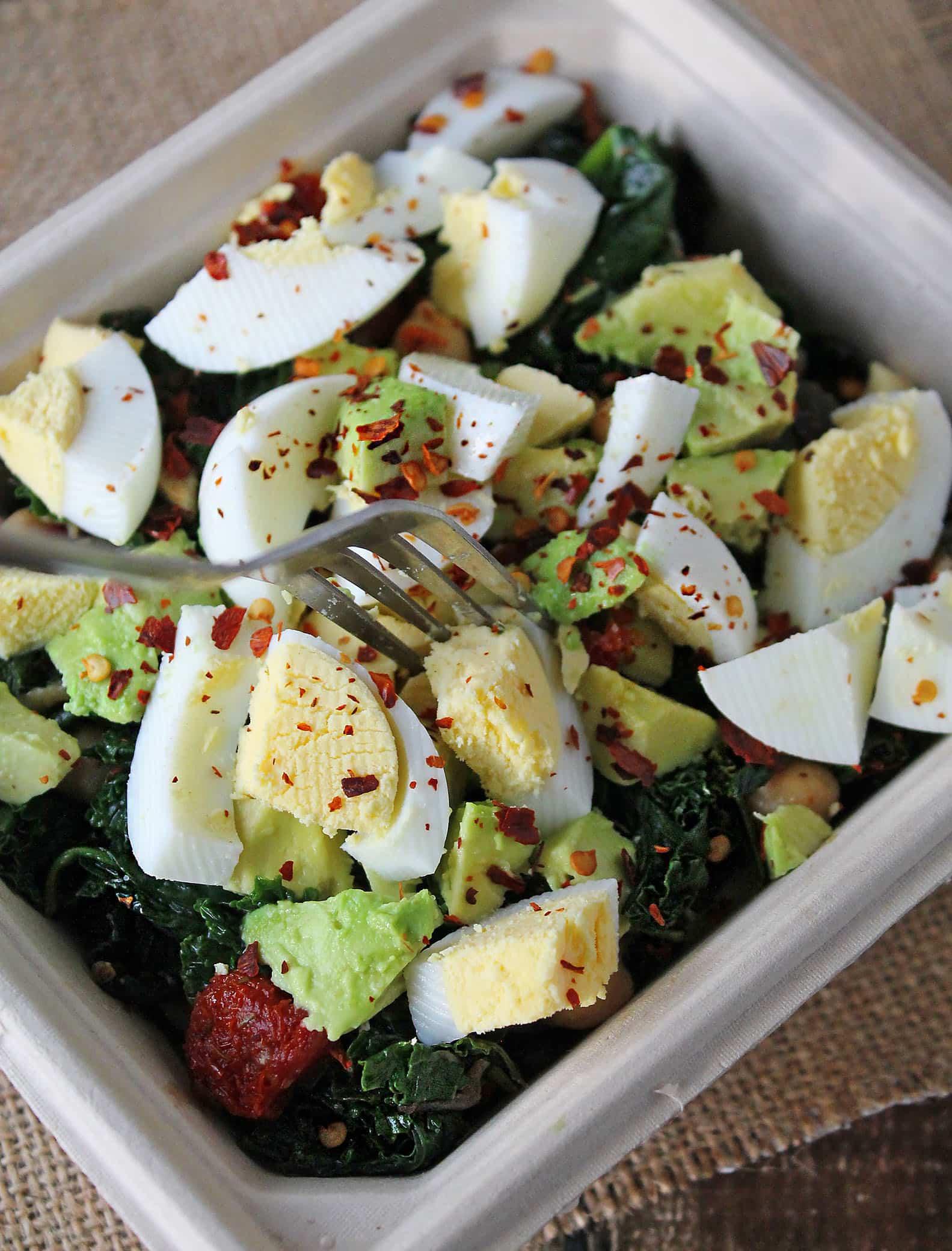 Sauteed-Kale-Chickpea-Eggs-Avocado-#HeatAndEat