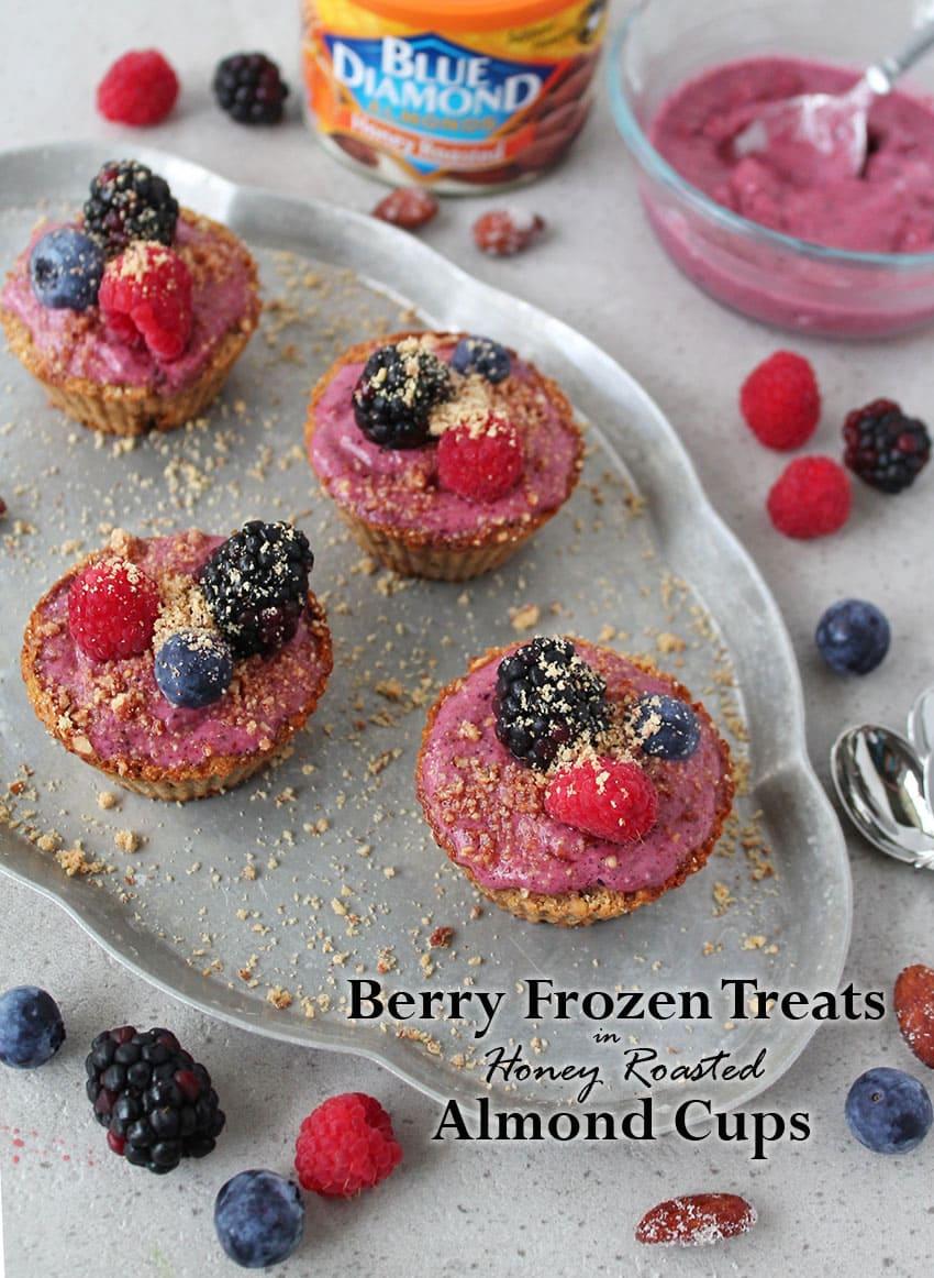Berry-Frozen-Treat-in-2-Ingredient-Almond-Cups