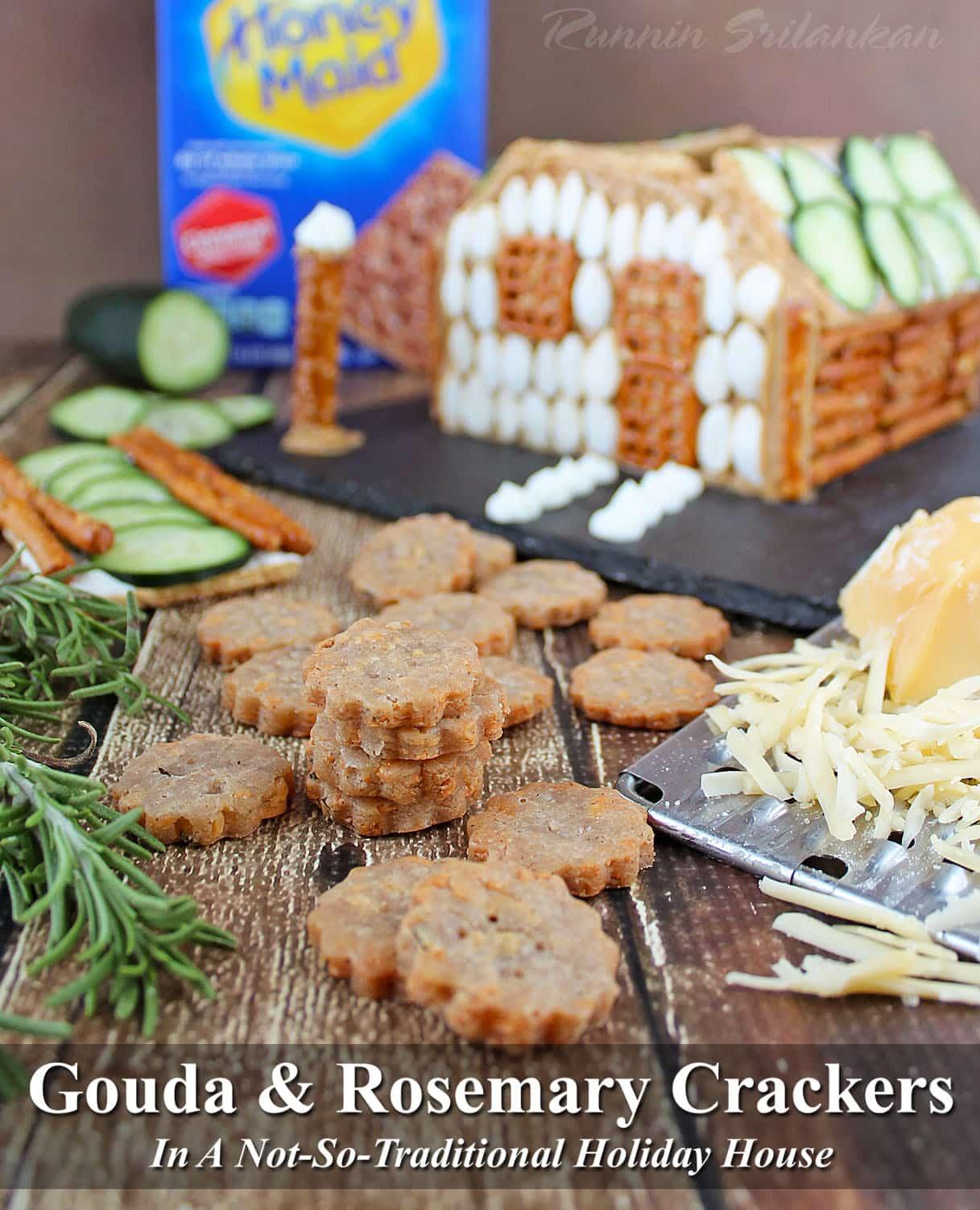 #HoneyMaidHouse Gouda Rosemary Crackers