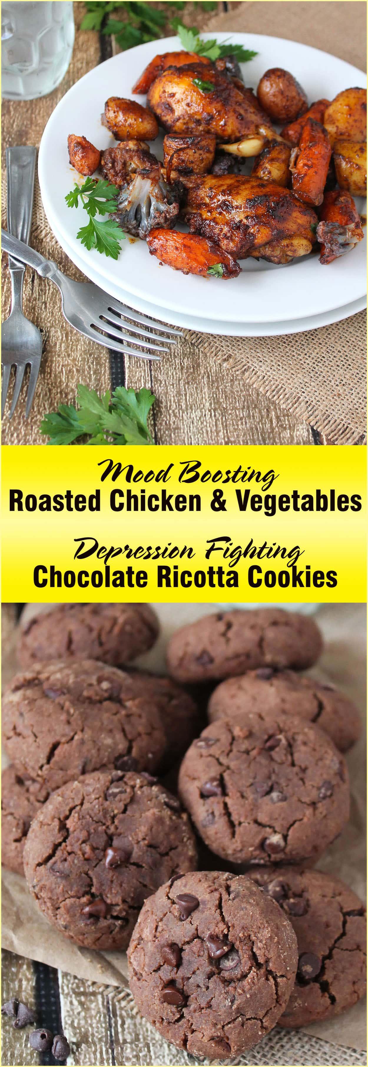 Roasted Chicken Vegetables & Ricotta Cookies #MinionsMovieNight