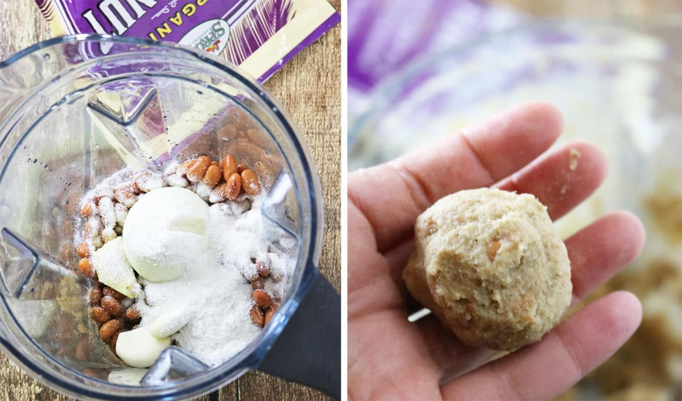 Pinto Bean Coconut Patties