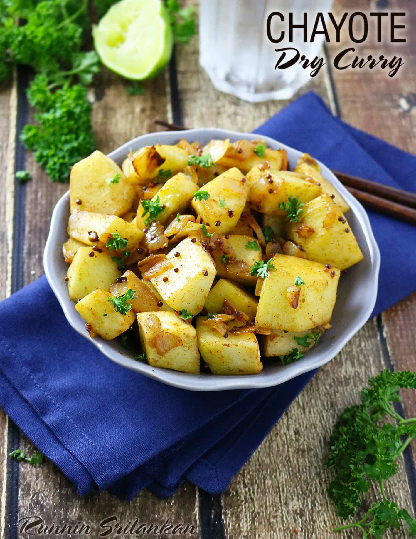 Chayote Dry Curry