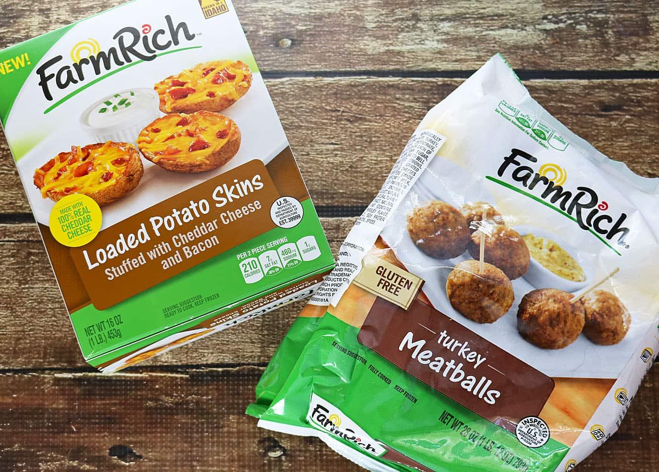FarmRich Potato Skin PileUp #GameDaySnackHacks