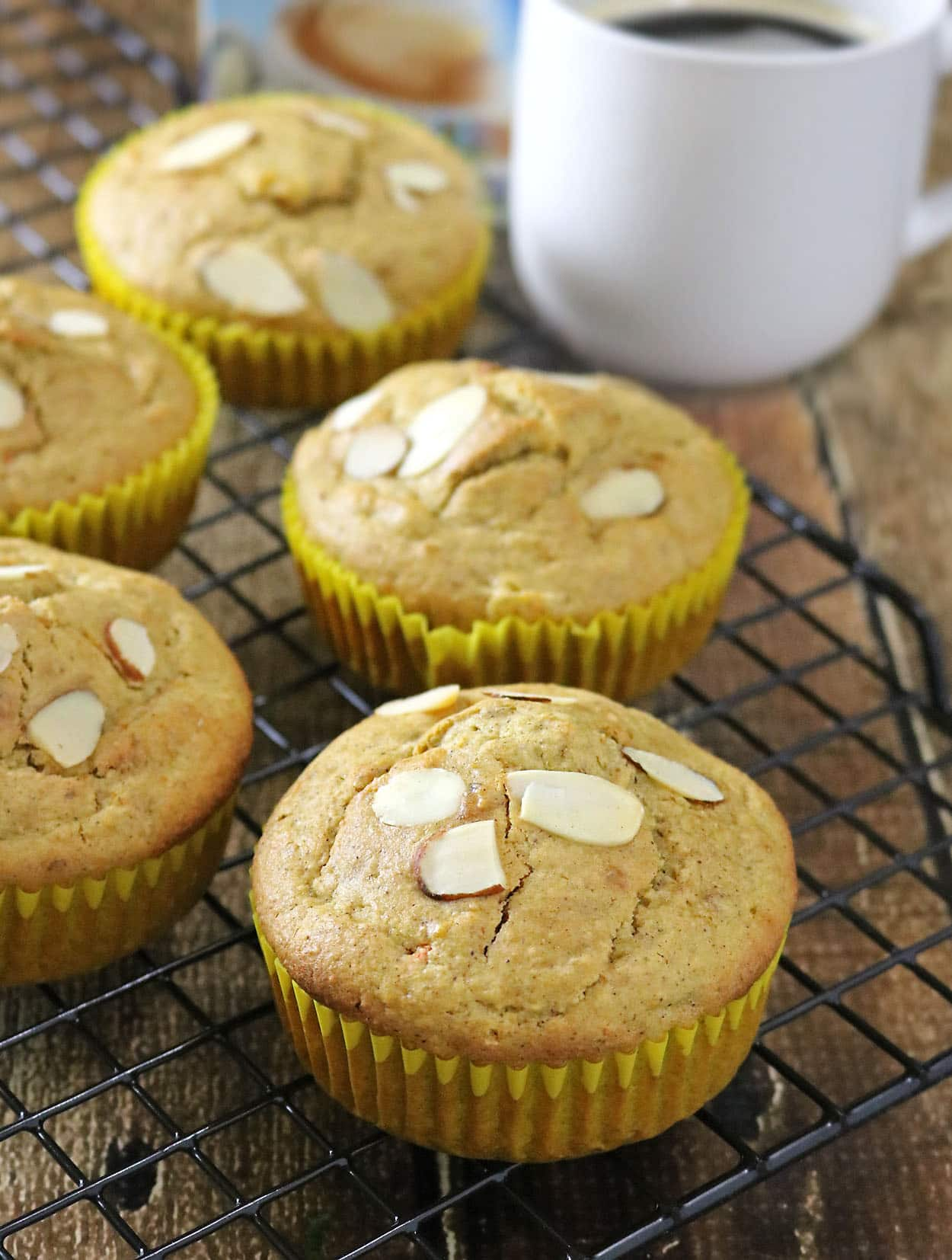 Carrot Pineapple Muffins #SilkSipToSpoon