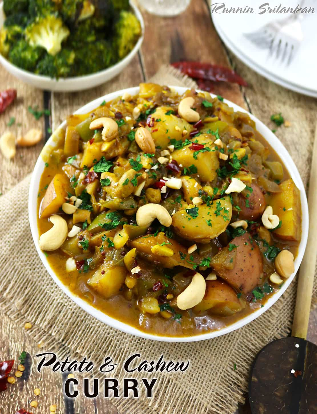 Sri Lankan Potato & Cashew Curry