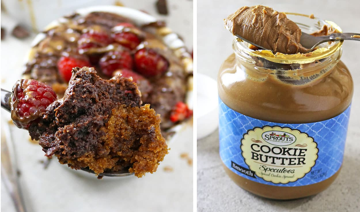 Chocolate & Cookie Butter Bake