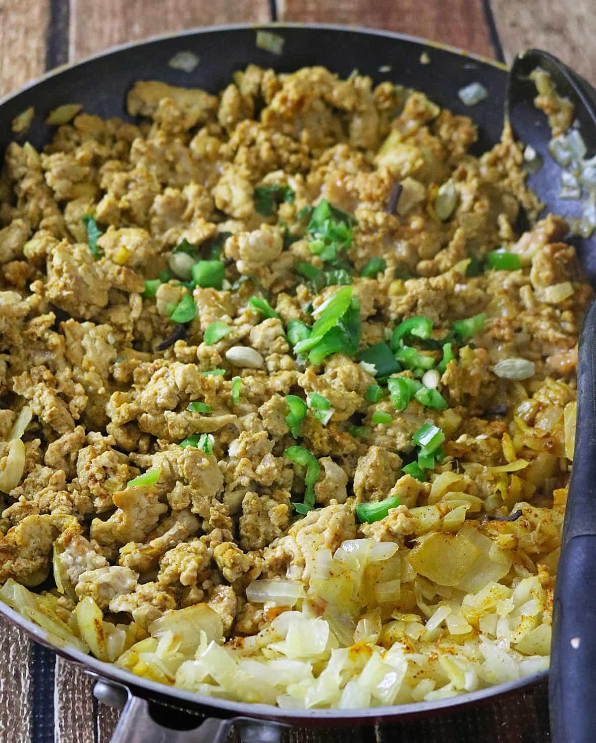 Chicken Keema - Spiced Ground Chicken