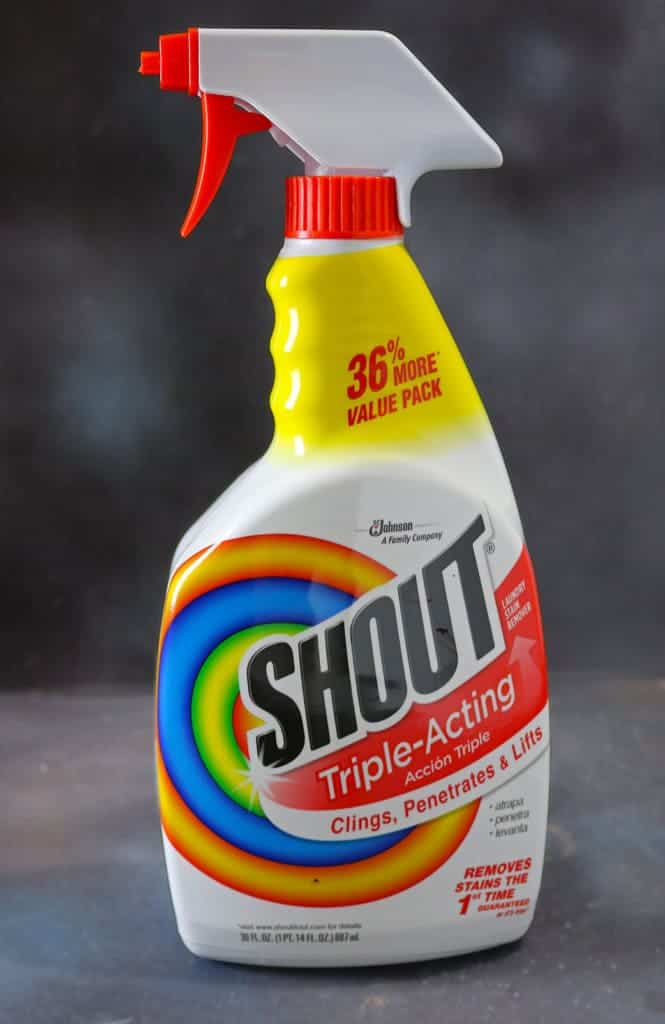 Shout® Trigger Triple-Acting Stain Remover