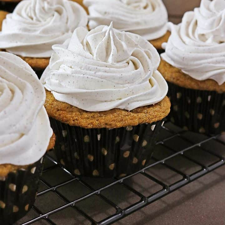 Sweet Potato Cupcakes Inspired by Brick Street Sweet Potato Cake