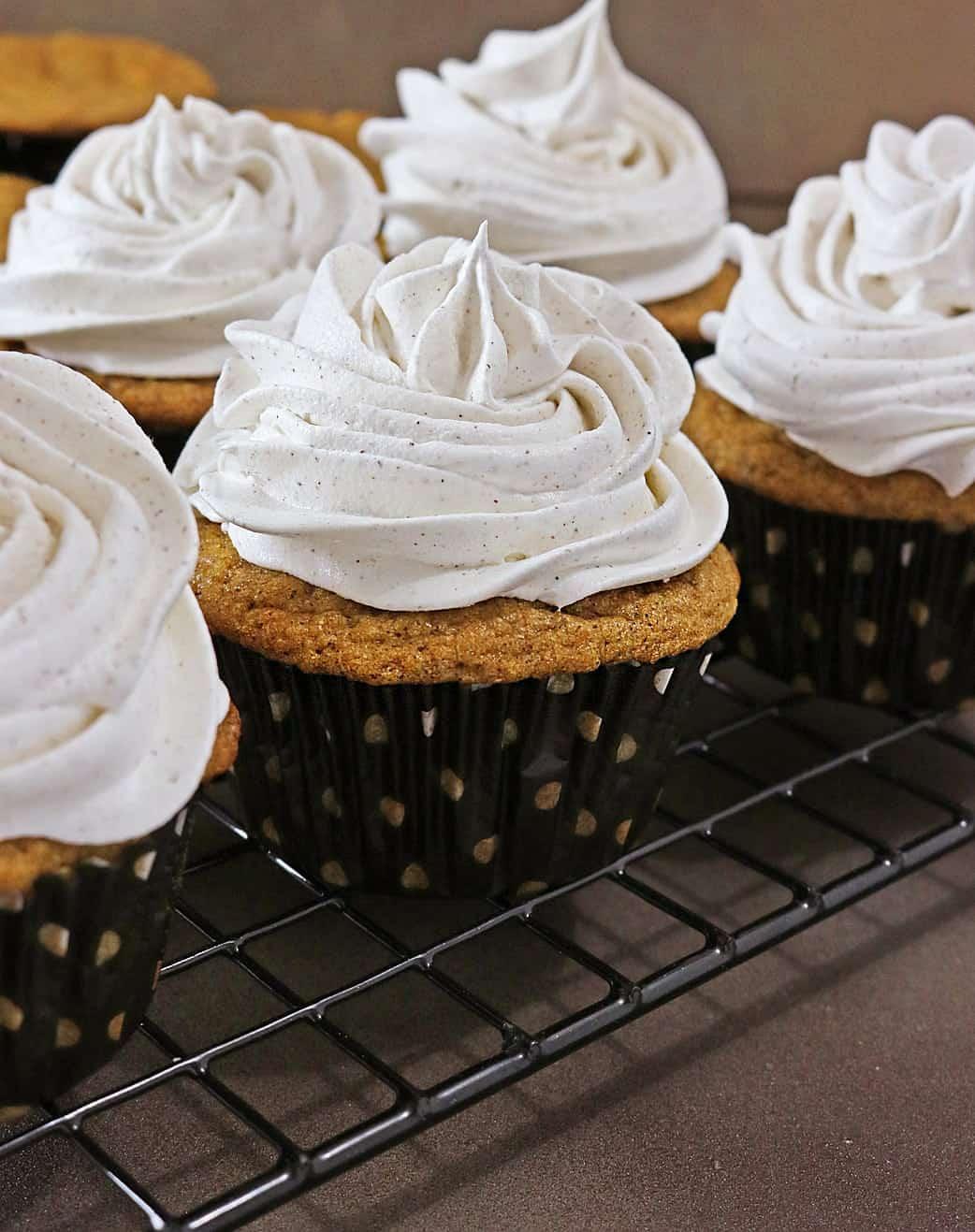 Sweet Potato Cupcakes Inspired by Brick Street Sweet Potato Cake