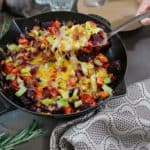 Cheesy Bacon Braised Beets #ScrubCloth