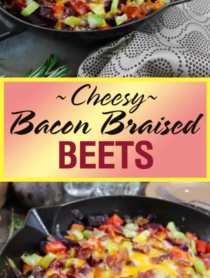 Cleaning Your Cast Iron Skillet After Cheesy Bacon Braised Beets