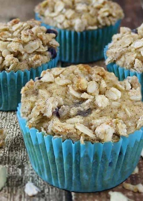 Blueberry Jicama Muffins {Gluten Free}