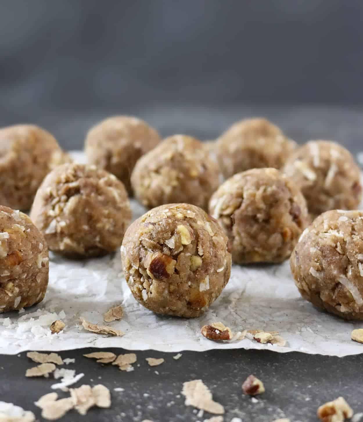 Aval Laddu - Spiced Pecan Banana Rice Balls