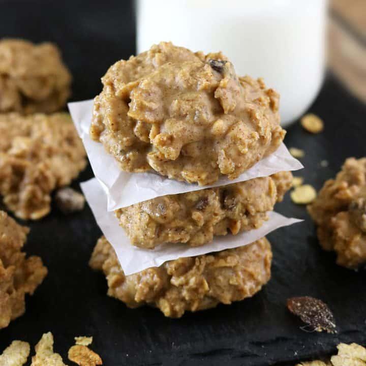 No-Bake Cereal Cookies