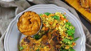 Pumpkin Curried Pork Chops