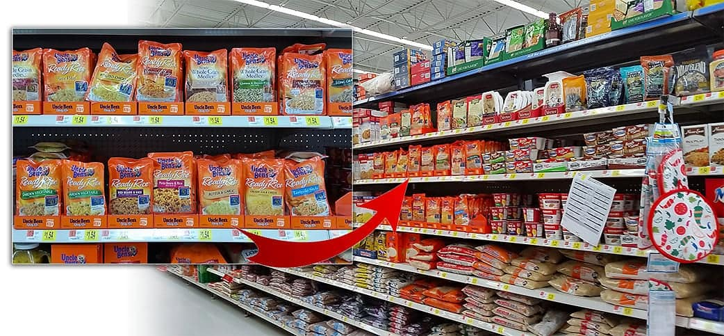 Uncle Ben's Ready Rice at Walmart