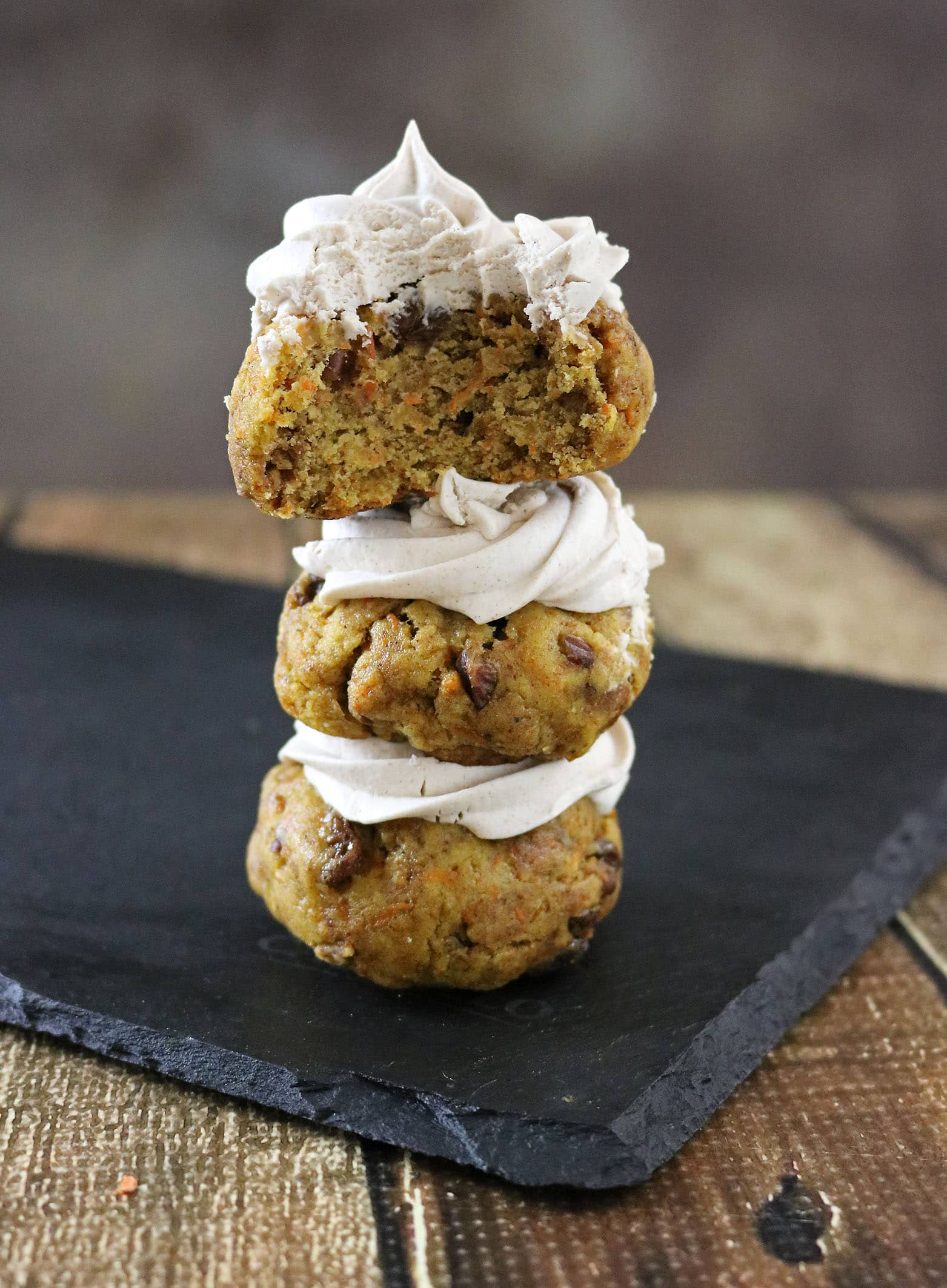 Carrot Cake Breakfast Cookies - Gluten Free and Refined Sugar-Free, the recipe for these can be found at RunninSrilankan.com