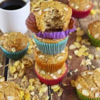 Blender Honey Almond Cereal Muffins