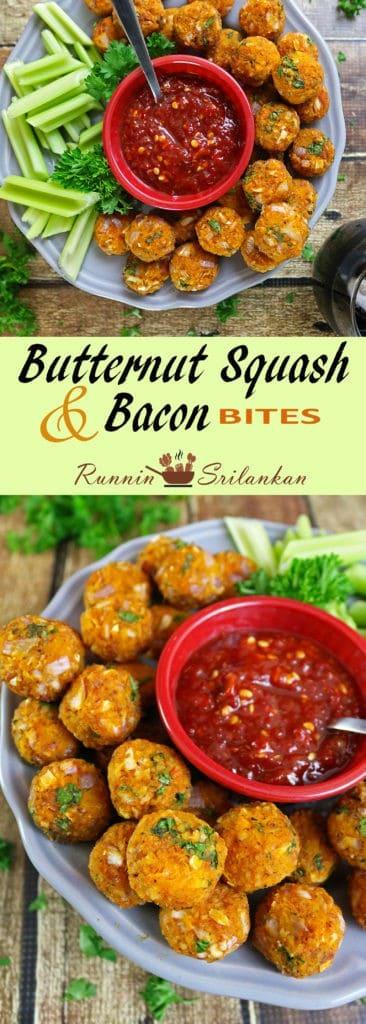 Easy Butternut Squash Bacon Bites