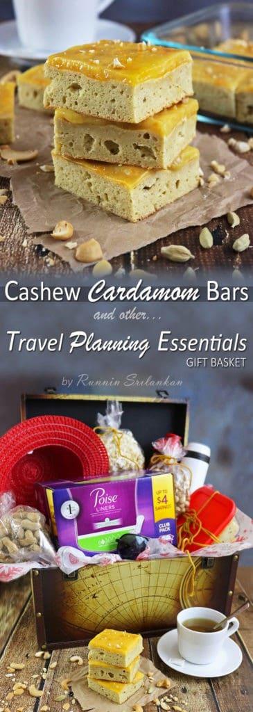 Cashew Cardamom Bars