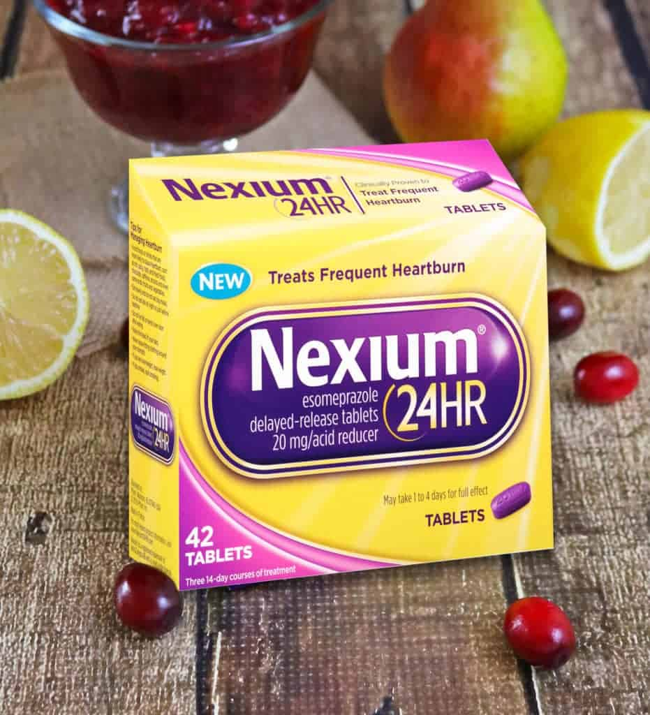 Citrusy Cranberry Pear Sauce and Nexium