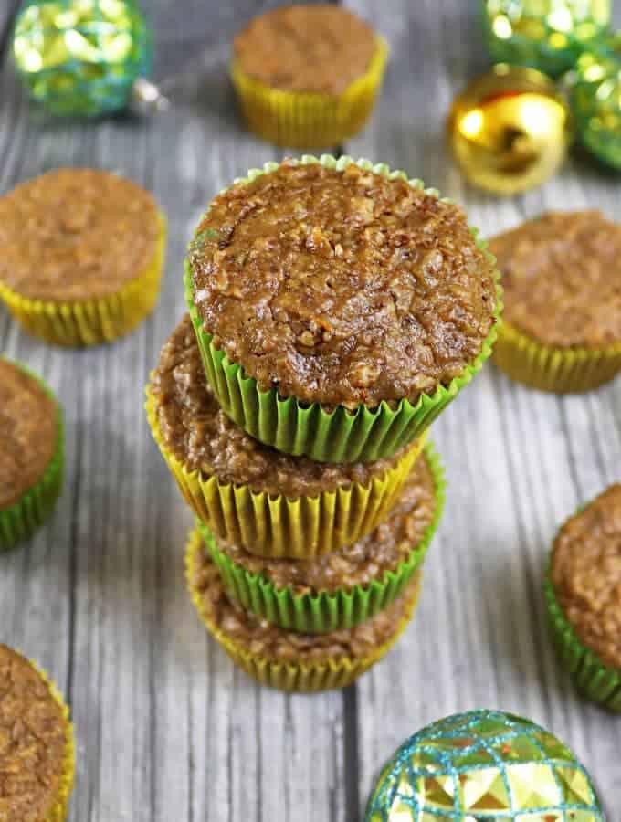 Boozy Christmas Cake Cupcakes