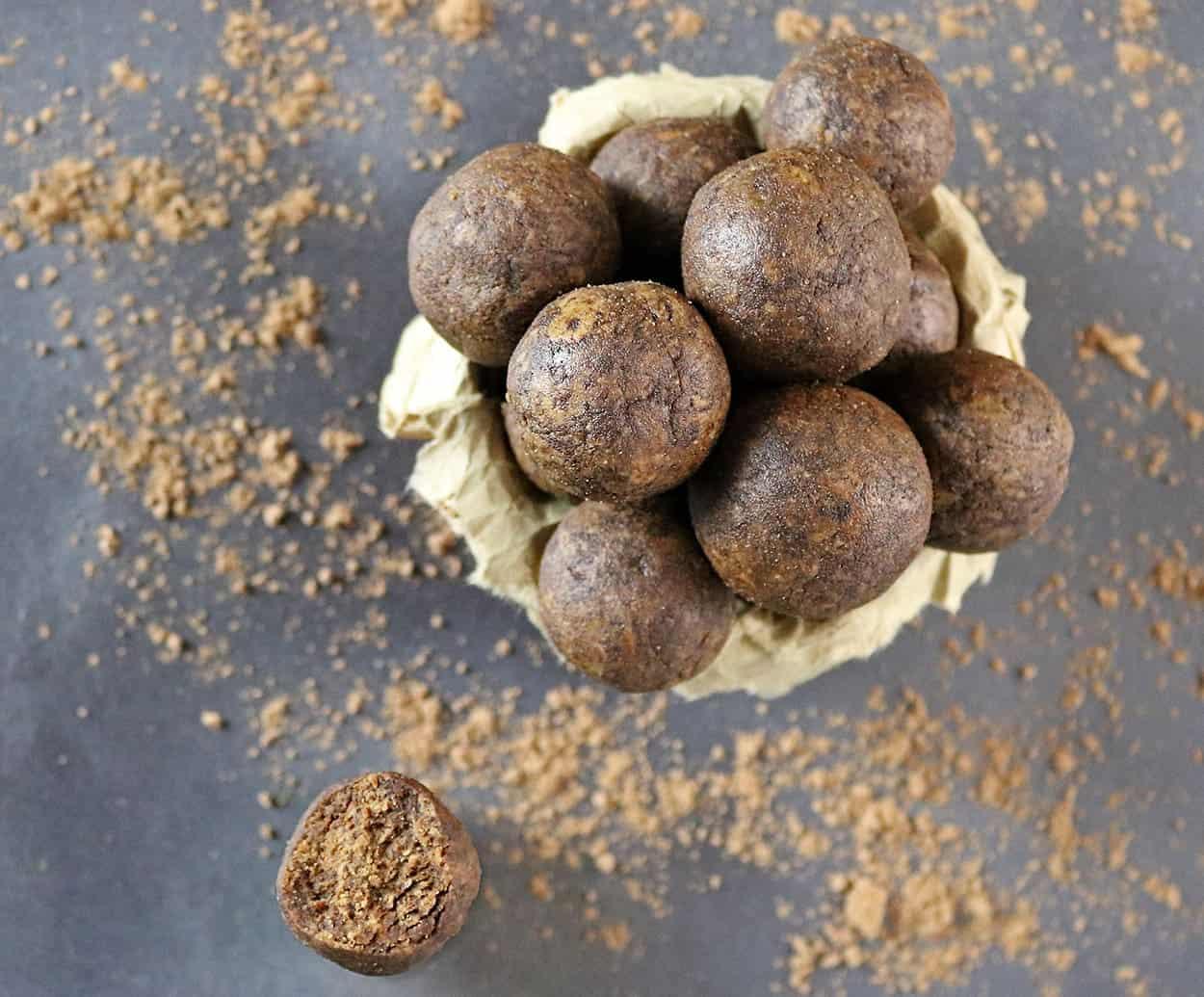 Gluten-Free Mocha Almond Bites
