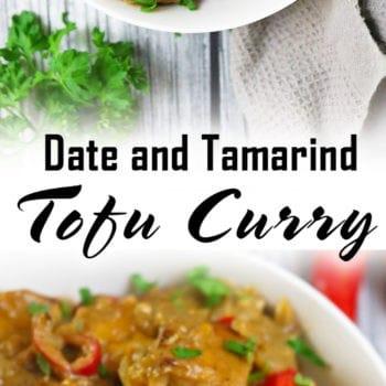 Vegetarian Date Tamarind Tofu Curry
