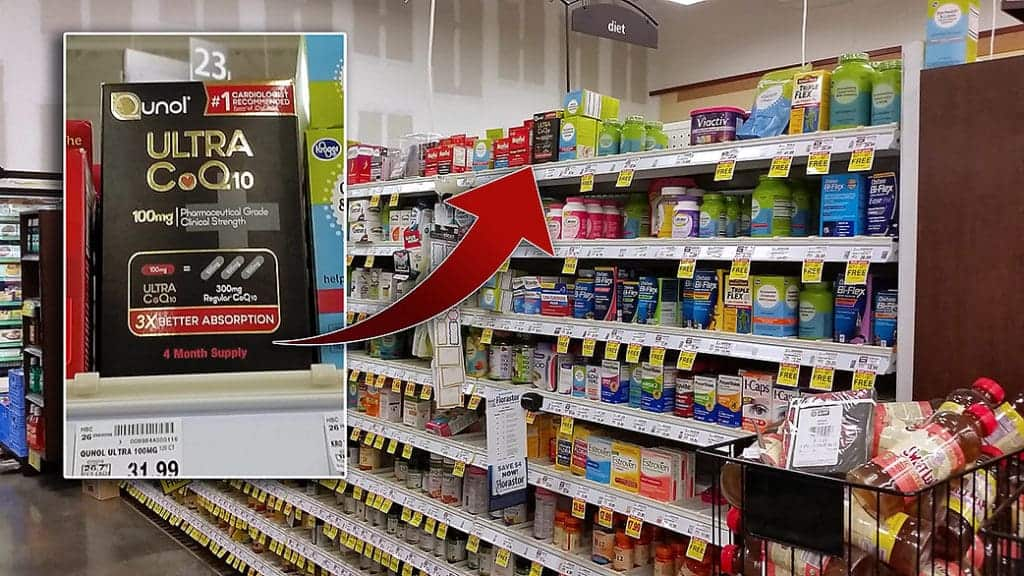 Qunol Ultra CoQ10 at Kroger