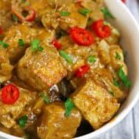 Dreamy Date Tamarind Tofu Curry
