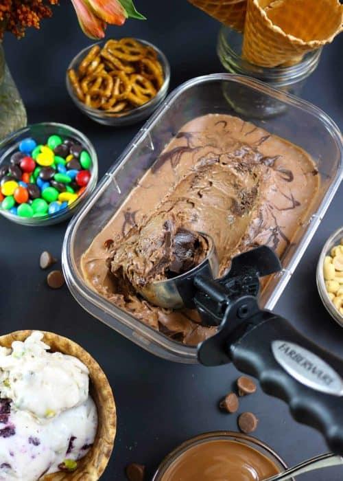 No-Churn Dairy-Free Chocolate Ice Cream