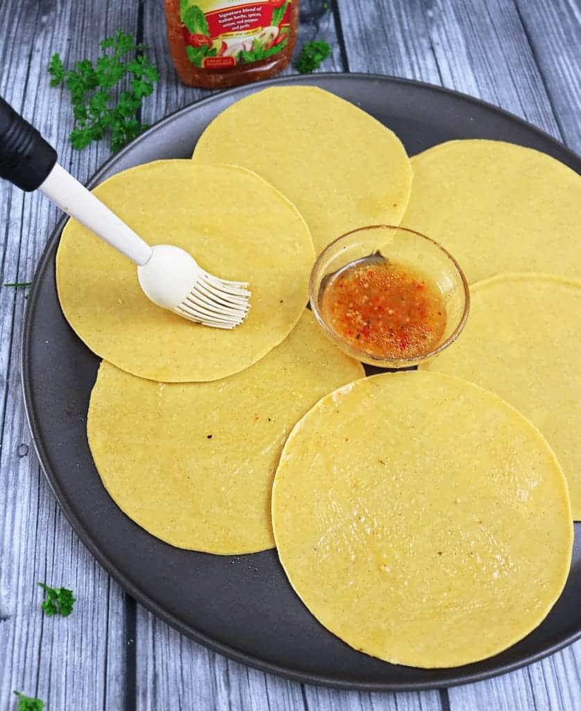 Spicy Roasted Veggie & Chicken Buddha Bowls
