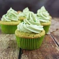 Avocado Cupcakes with Whipped Avocado Cream