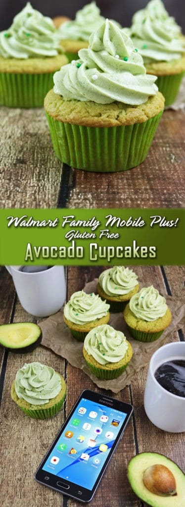 Max Your Tax Cash with Walmart Family Mobile Plus Gluten-Free Avocado Cupcakes #YourTaxCash