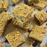 Blender Carrot Cake Breakfast Bars