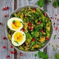 Pineapple Quinoa And Leek Sautéed Salad