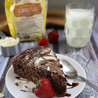 Gluten Free Chocolate Almond Cake