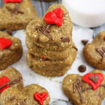 Easy Chocolate hemp Cookies - Gluten Free