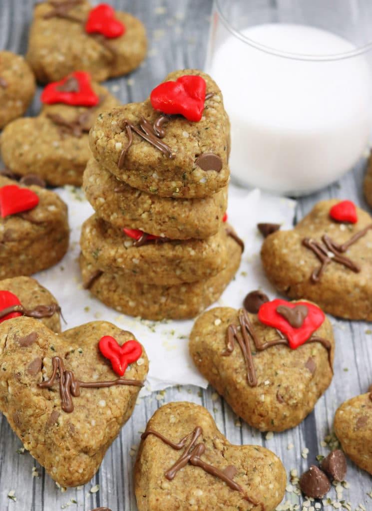 Healthy Chocolate hemp Cookies