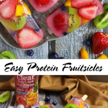 Easy Fresh Fruit Popsicles