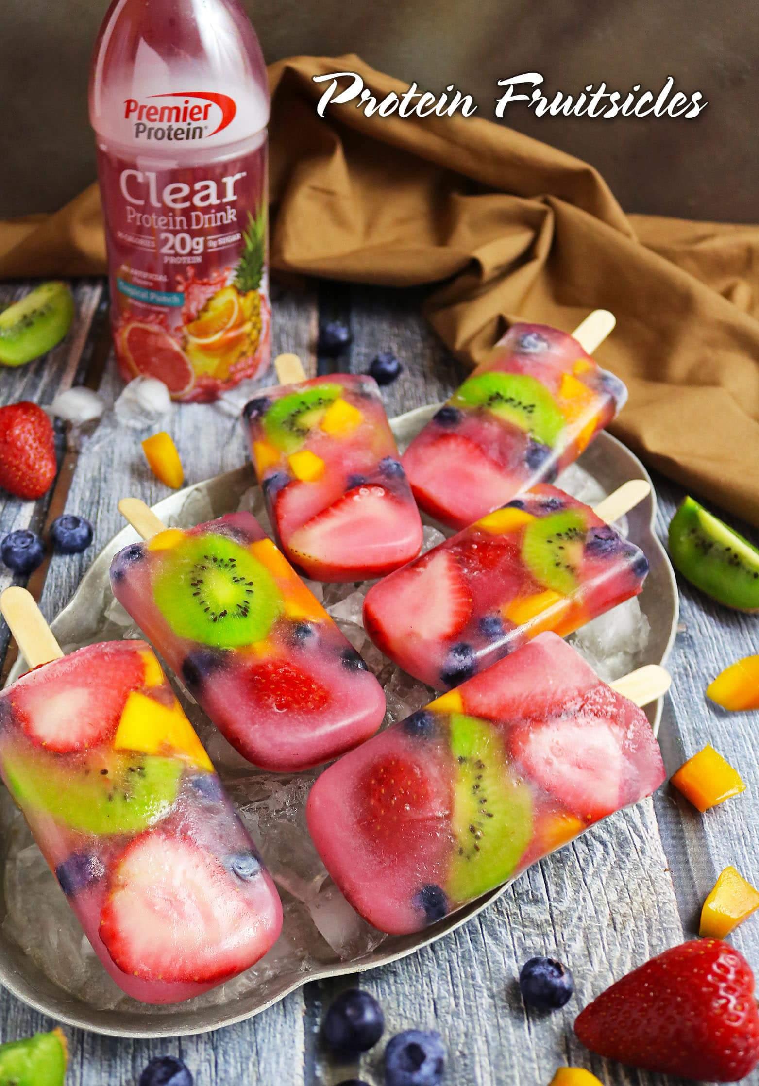 Easy Protein Fruitsicles