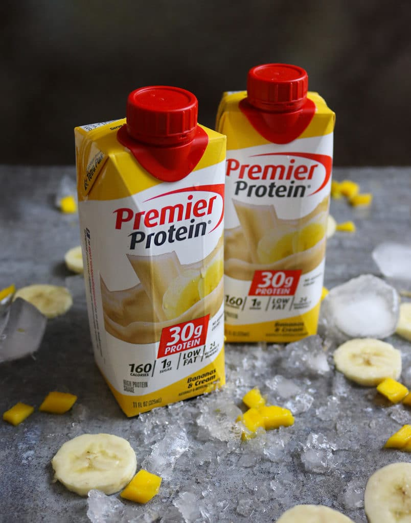 Premier Protein Bananas And Cream Shakes