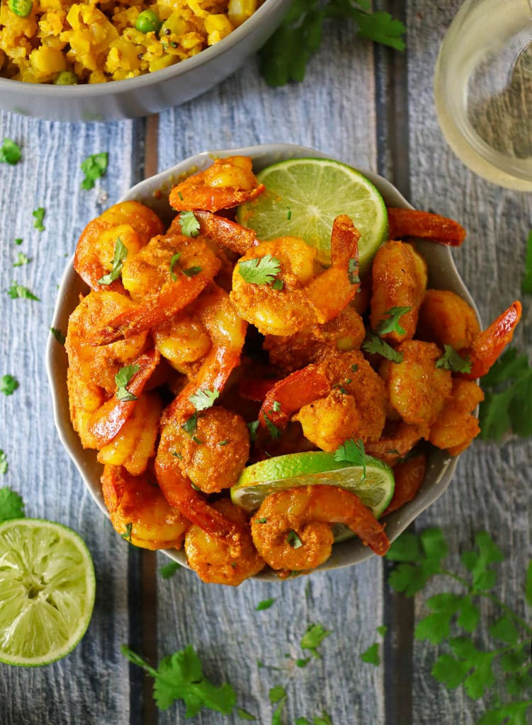 Spiced Lime Shrimp With Cavit Pinot Grigio