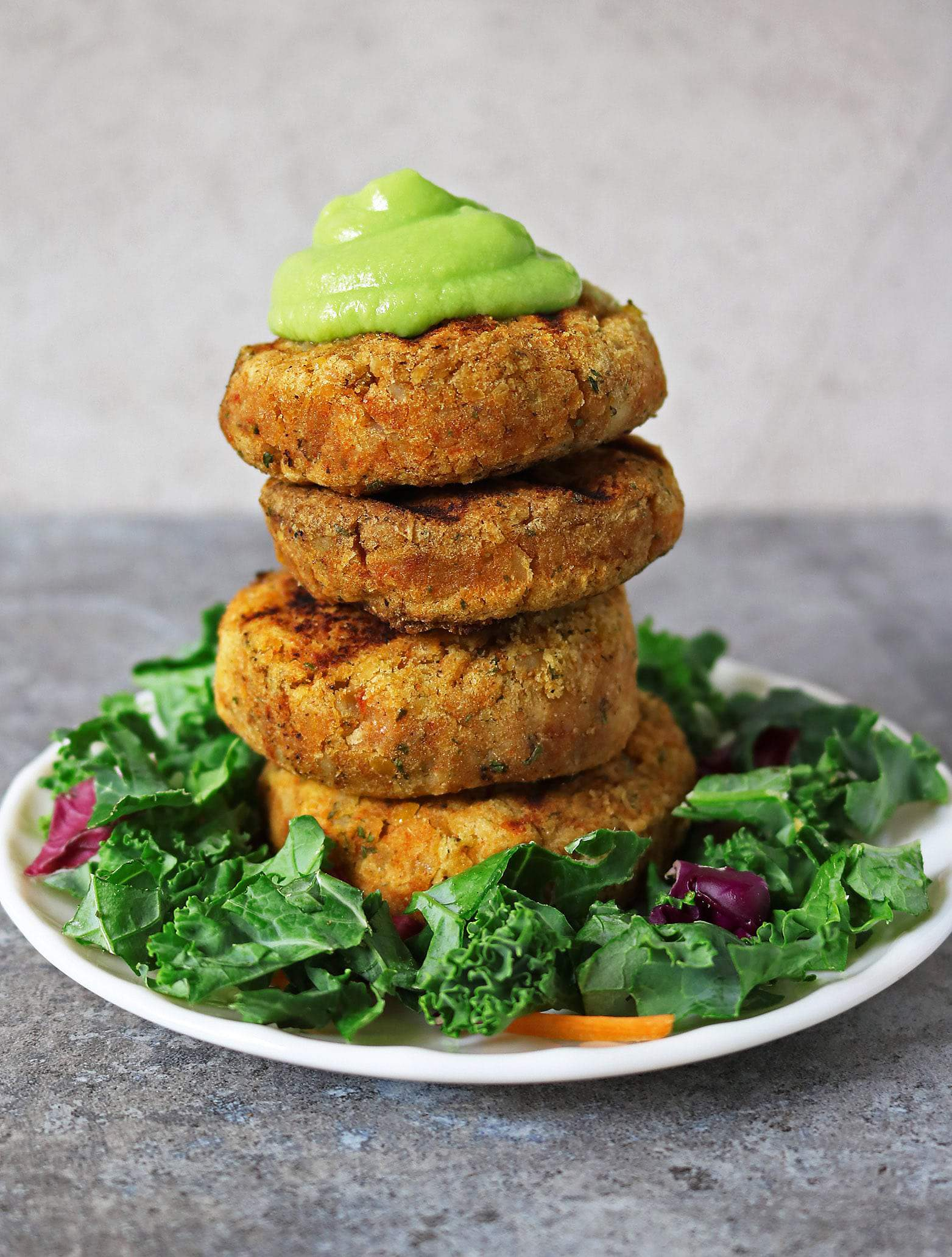 Potato Chickpea Patties