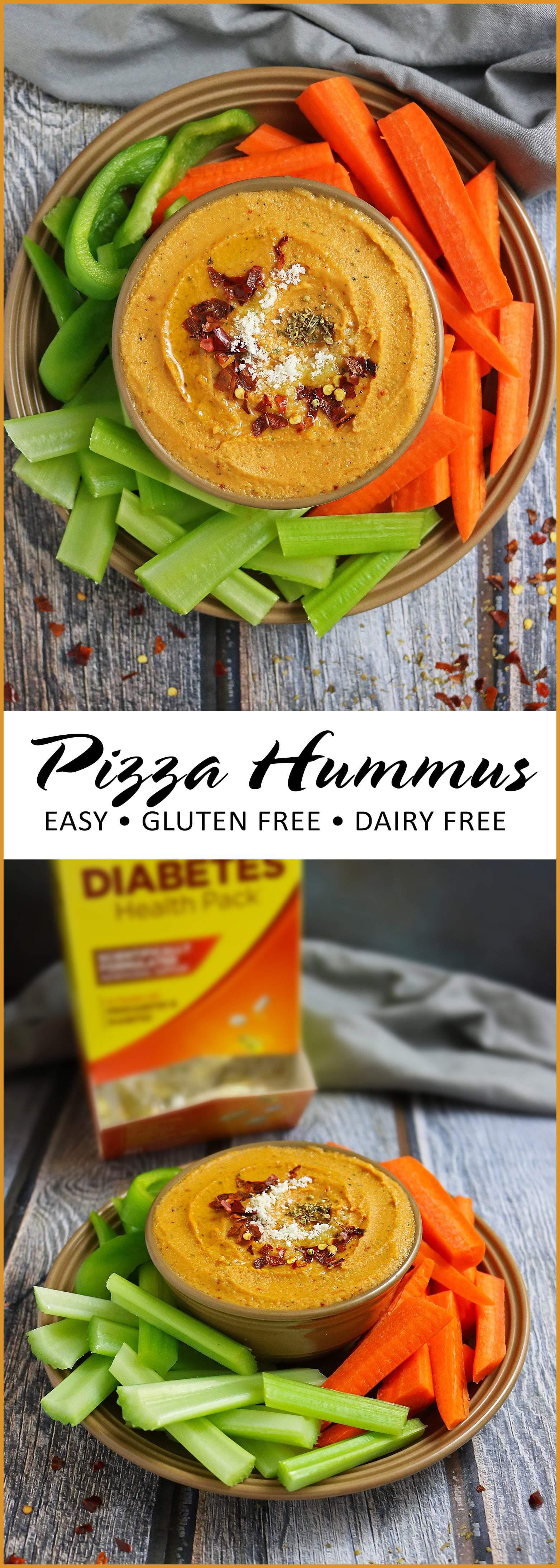 Easy Delicious Pizza Hummus